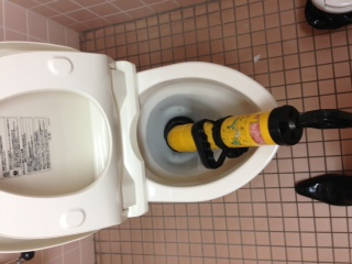 藤枝市仮宿トイレ詰り修理