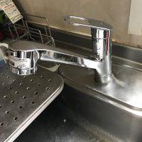 藤枝市 台所蛇口の水漏れ修理