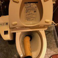 藤枝市 洋式トイレ詰まり修理