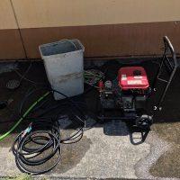 静岡市葵区北安東 高圧洗浄作業