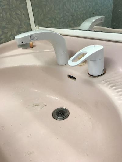 藤枝市 洗面蛇口水漏れ修理