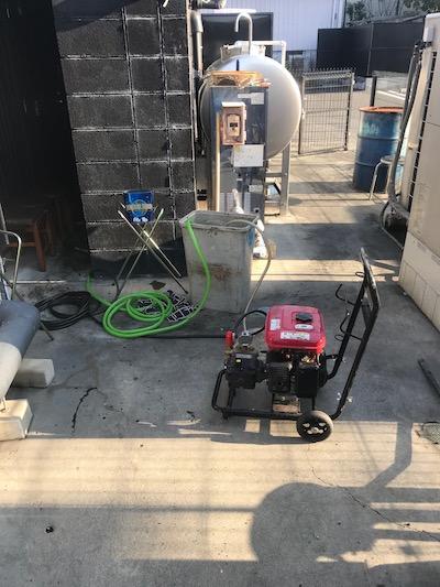 藤枝市 店舗排水詰まり修理