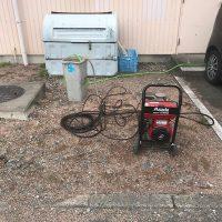 静岡市駿河区丸子 高圧洗浄作業