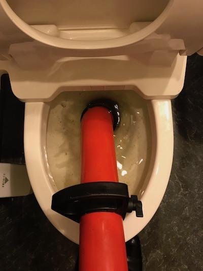 焼津市 洋式トイレ詰まり修理