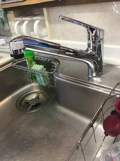 島田市台所蛇口水漏れ修理