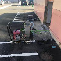 藤枝市 店舗トイレ詰まり修理