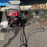 焼津市 屋外排水詰まり修理