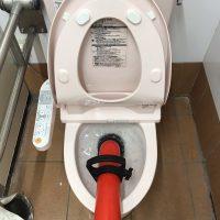 焼津市 店舗トイレ詰まり修理