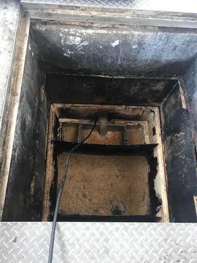 静岡市 店舗厨房排水詰まり修理