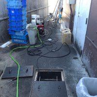 焼津市 厨房排水詰まり修理