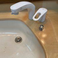 島田市 洗面蛇口水漏れ修理