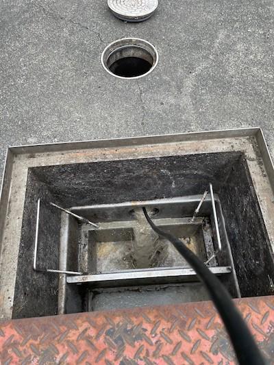 静岡市 店舗排水詰まり修理